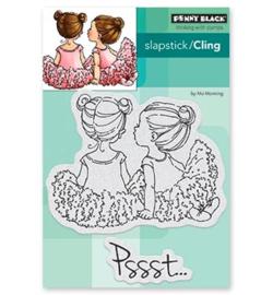 Penny Black Slapstick/Cling Stamp Whispers 40-528