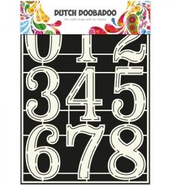 DDD Stencil Art Numbers 2 470.715.805