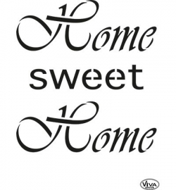 Viva Sjabloon Home Sweet Home 900231600