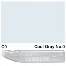 Copic Ink refill Cool Gray C-0