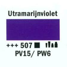Amsterdam Marker 8-15mm  507  Ultramarijnviolet