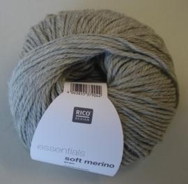 Soft Merino aran Kleur 20 Grijs