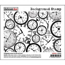 Background Stamp - Clocks DDBS051