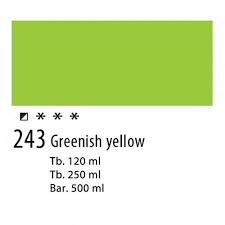 Amsterdam Acrylverf 20ml 243 Groen-geel