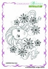 Winter Dawn Single Rubber stamp - A6 0525
