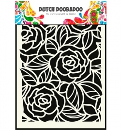 Dutch Mask Art - A5 Big Roses  470.715.023