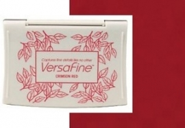 Inkpads Versafine Crimson red