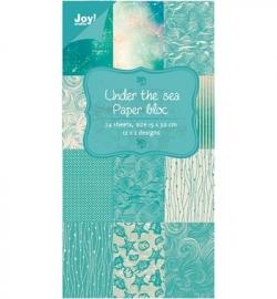Paper bloc, 15x30cm  Under the Sea 6011/0307
