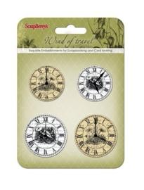 ScrapBerry's Clock Wind Of Travel (SCB34001072)