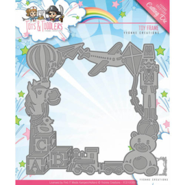 Die - Yvonne Creations - Tots and Toddlers - Toy Frame  YCD10089