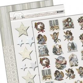 3D Knipvel - Amy Design - Brocante Christmas - Minis & Labels ADMIN10001