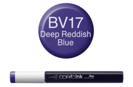 Copic Ink refill Deep Reddish Blue BV17