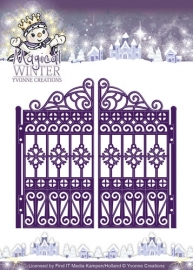 Die - Yvonne Creations - Magical winter - Gate YCD10044