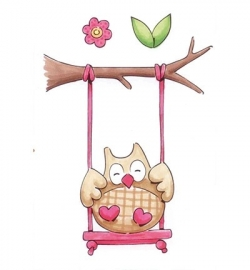 MD Eline`s stempel Owl 1 EC0145