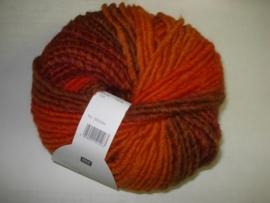 Creative Bonbon Super chunky Bruin/roest 004   100gr