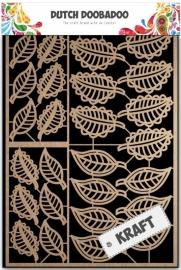 Dutch Doobadoo Dutch Paper Art - bladeren A5 - 479.002.008