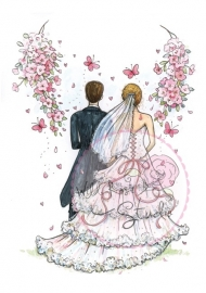 Wild Rose Studio`s A7 stamp set At the Altar CL366