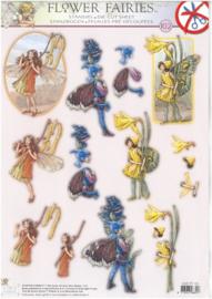 3d puch-out flower fairies easyff102