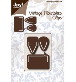 Joy! Vintage Flourishes snijmal clips 6003/0071