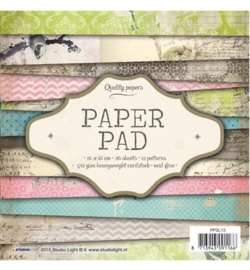 SL  Paper Pad - Paper Pad Blok nr.13 15 x 15