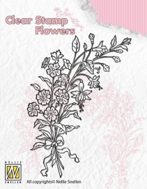 NS Clear Stamp Flowers - Bouquet of wild flowers 2 FLO007