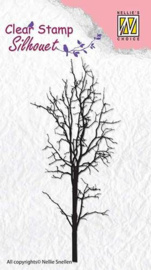 NS Clear stamps - Silhouet - Tree-1 SIL007