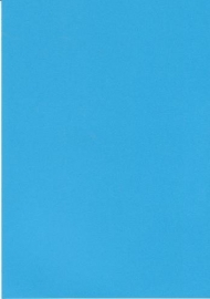 A5 Hobbykarton 200gr Blauw 10st