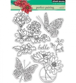 Penny Black Clearstamp Perfect pairing 30346