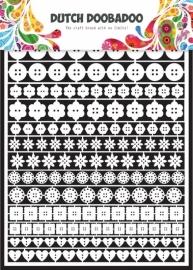 Dutch Paper Art buttons - A5 472948010