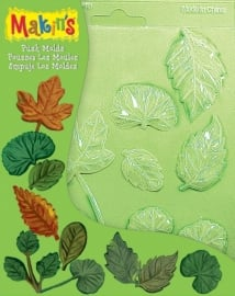 Makin's Clay Pushmold Leaves