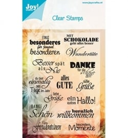 Joy Noor! Design 6410/0023 Deutsch Text