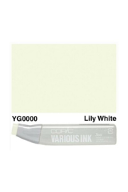 Copic ink Reffil  Lily White YG0000
