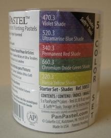 Panpatels set van 5 Starterset Shades