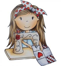 Paper Nest Dolls Sewing Ellie