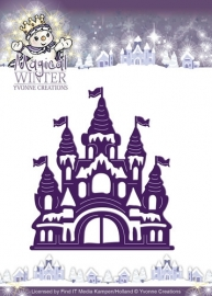 Die - Yvonne Creations - Magical winter - Castle YCD10042