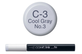 Copic Ink refill Cool Gray C-3