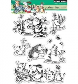 Penny Black Clearstamp Critter fun 30335