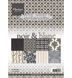 MD Pretty Papers Noir & Blanc PK9103