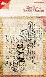 Joy! Stempel ENG - Stamp print - N.Y.C 6410/0026
