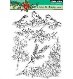 PB Stamp Birds & blooms 30.377