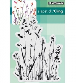Penny Black Clingstamp Nature's paintbrushes 40441