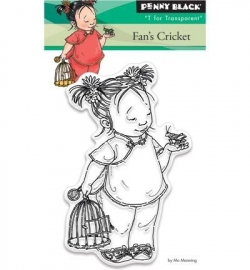 Penny Black Clearstamp Fan's cricket 30366