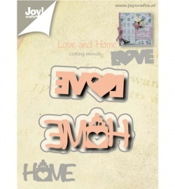 Joy! cutting & embossing Love en Home 6002/0527