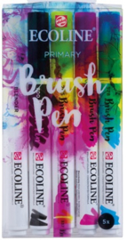 Ecoline Brush pen set Primary