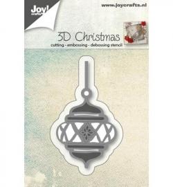 Joy! Cutting & embossing 3D kerstbal 6002/0560