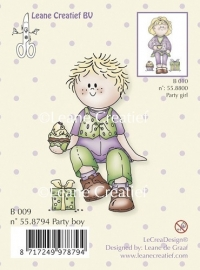 Clear stamp Bambini party boy 55.8794