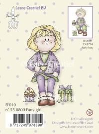 Clear stamp Bambini party girl 55.8800