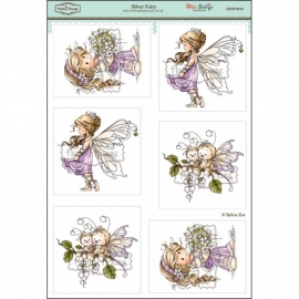 Wee Stamps Silver Fairy HHWS010