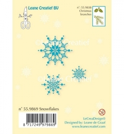 Clear Stamp - Snow flakes 55.9869