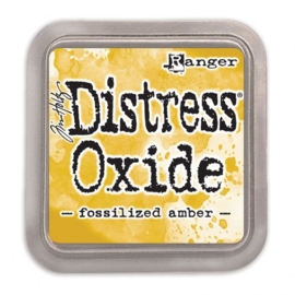 Ranger Tim Holtz distress oxide fossilized amber